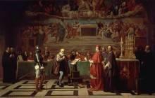 Galileo ante el Santo Oficio (Fuente)