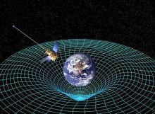 Sonda GPB orbitando la Tierra para medir el espacio tiempo (Fuente)