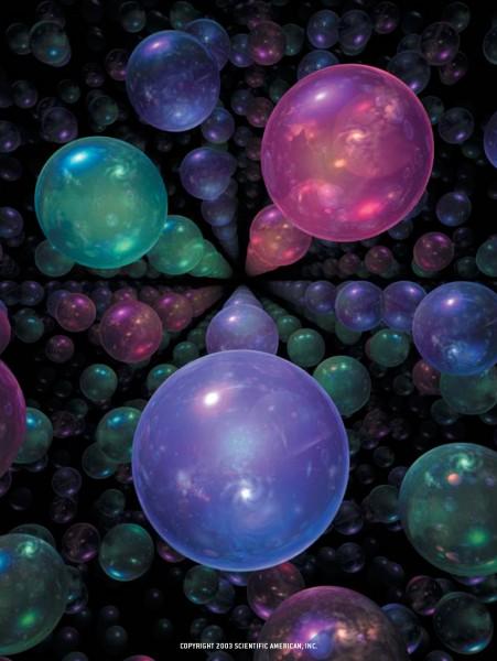 Imagen conceptual del multiverso (Fuente)