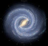Nuestra galaxia desde arriba