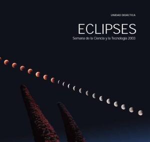 Portada del libro Eclipses, unidad didáctica editada por FECYT en 2003
