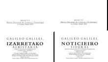 Sidereus Nuncius catellano euskera catalán gallego