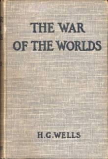 Guerra de los mundos, portada de la primera edición
